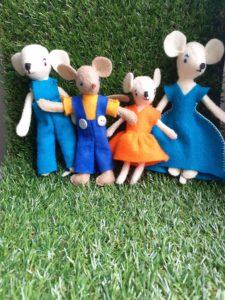 filcowa rodzina myszki