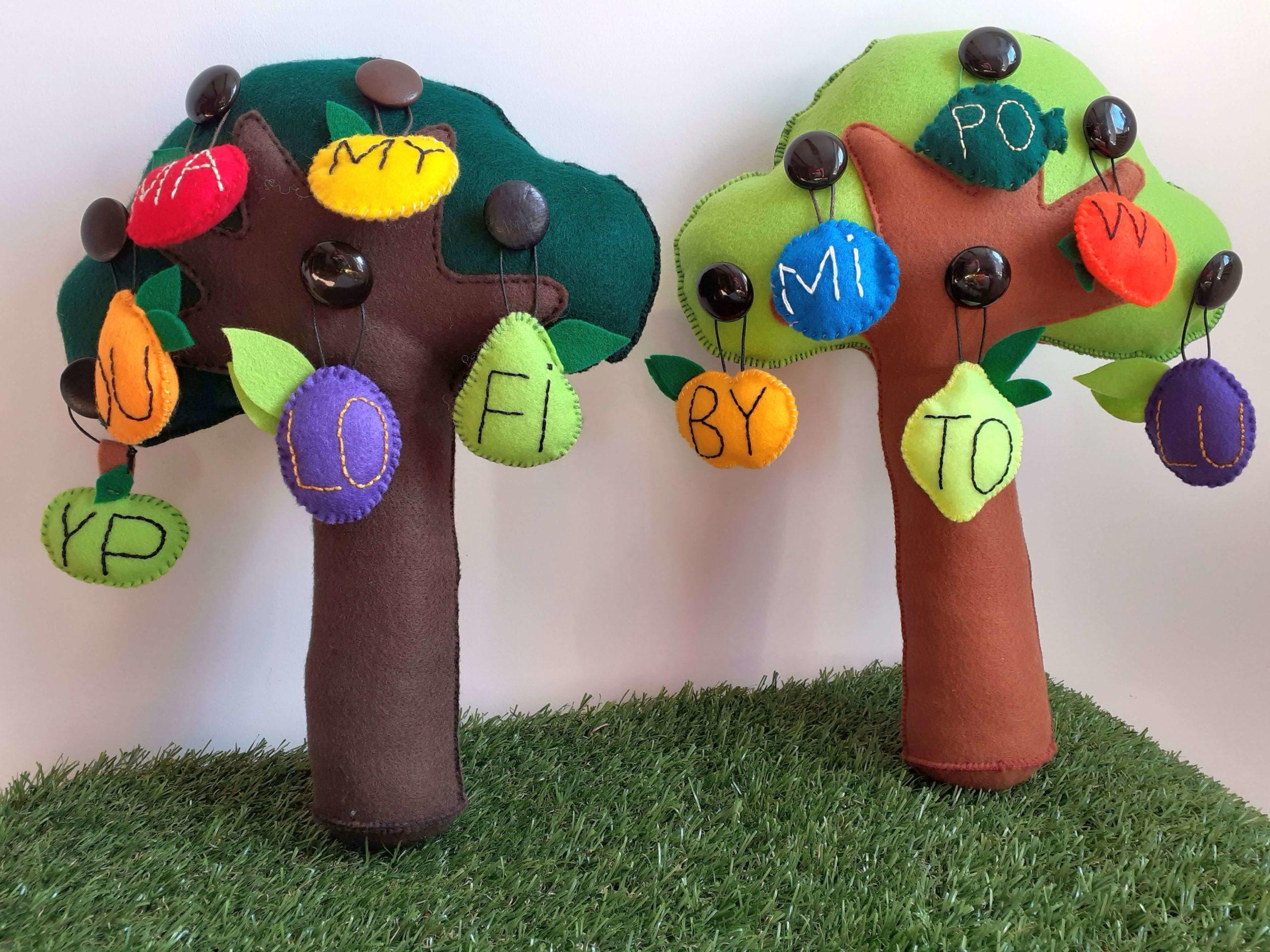 sylabowe drzewa z sylabowymi owocami